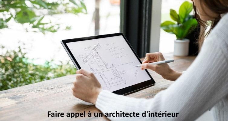 plan architecte d'intérieur