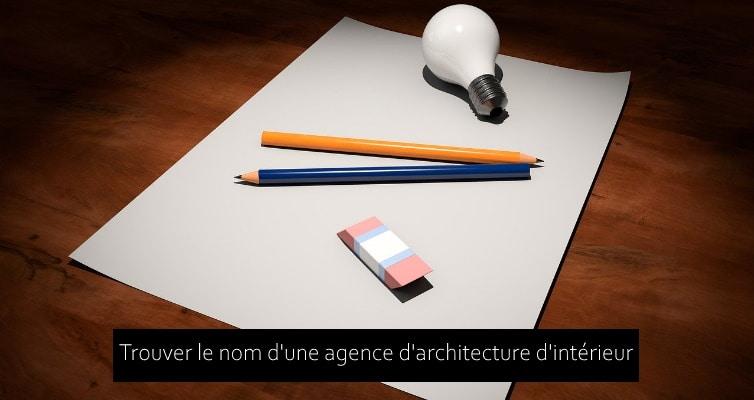 nom agence architecture